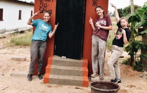 Helping with Ghana's big dream to give families compost toilets