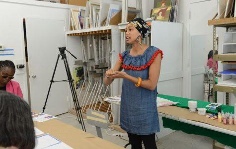 She journeys from Pelham Art Center teenage intern to teacher and noted artist