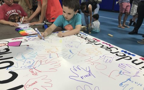 Kindergarten Social brings district elementary schools together