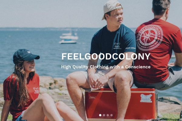 Two PMHS grads' thriving clothing company does well by doing good