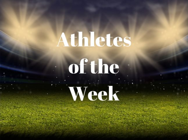 Athletes of the Week come from track, girls and boys golf and unified basketball