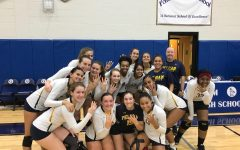 PMHS girls' varsity volleyball coach Mark Finegan records 400th career victory