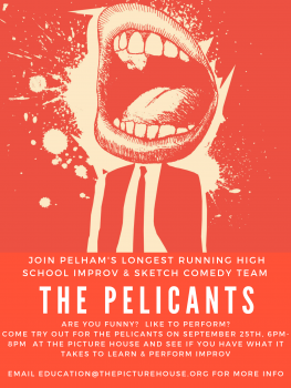 High school improv group Pelicants holds auditions Tuesday at 6 p.m.