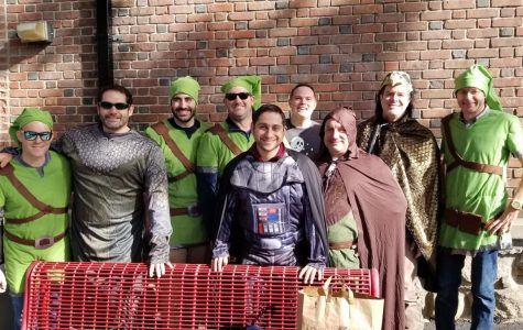 Siwanoy Dads' Club helps with Halloween parade