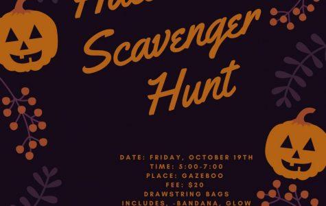 Pelham Loft presents Halloween Scavenger Hunt Oct. 19