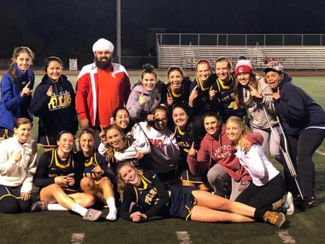 Field hockey punches ticket to semis; girls' swim 8th in conference