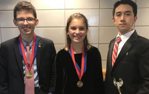 PMHS Forensic Speech team starts off great season with two placing 5th, one finalist at tournament this weekend