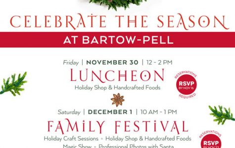 Bartow-Pell holiday events start Friday with lunch, family festival, evening fete