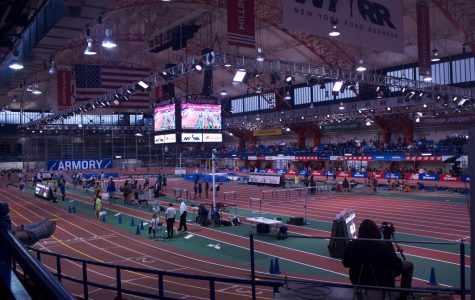 The privilege of competing at the world-class Armory Track and Field Center