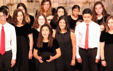 PMHS winter concert program and slideshow