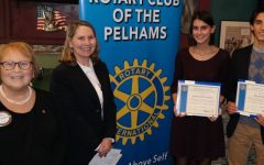 Rotary names Scholars of the Month program in honor of Marilyn Stiefvater; December scholars: Francesca Di Cristofano and Michael Salama