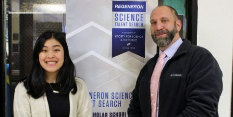 PMHS senior Caitlin Wong honored in Regeneron Science Talent Search