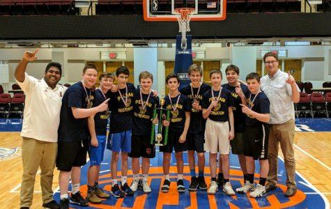 Eighth grade boys' rec all-star team wins 2019 Westchester County Basketball Championship