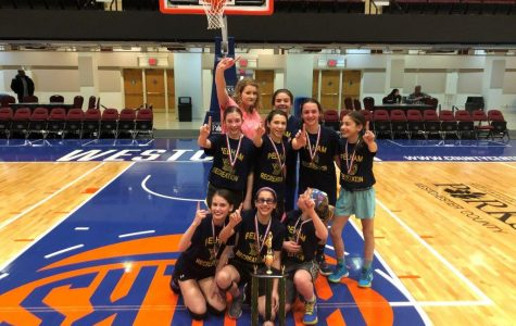 Sixth grade girls' rec all-stars win 2019 Westchester County Basketball Championship