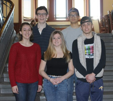 All five PMHS National Merit Semifinalists move on as