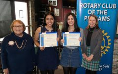 Rotary Club Scholars of the Month: Gabriella Bhiro and Elizabeth Sotolongo