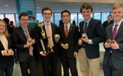 PMHS speech and debate team collects hardware at N.Y. Catholic Forensics League Grand National Qualifiers