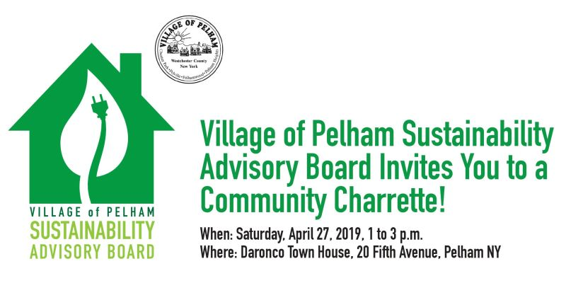 Village of Pelham sustainability board to hold info and idea sharing session April 27