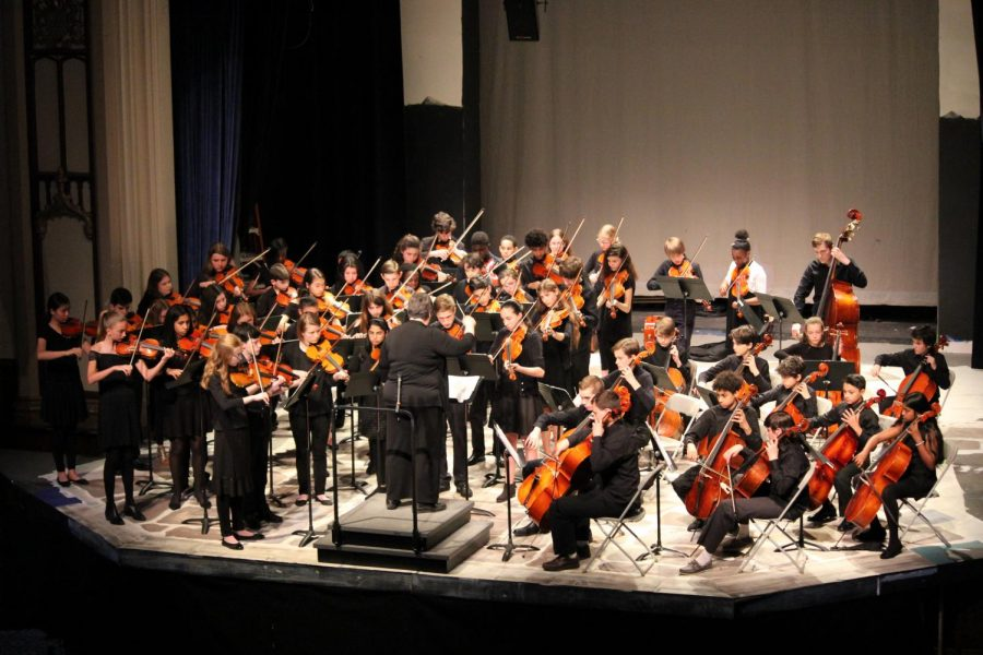 Foto Feature: PMS band, orchestra and chorus spring concerts